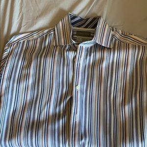 Thomas Dean button down dress shirt